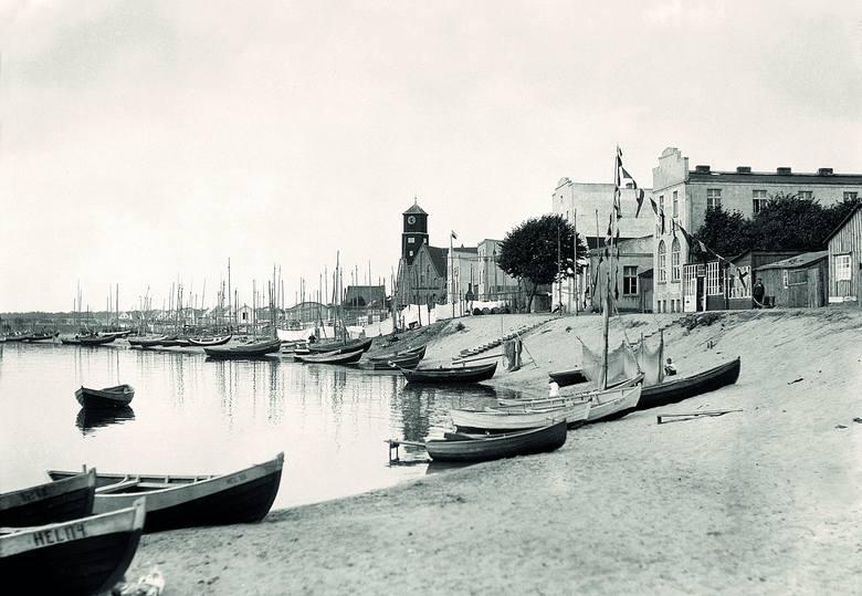 Port rybacki na Helu, 1932 rok