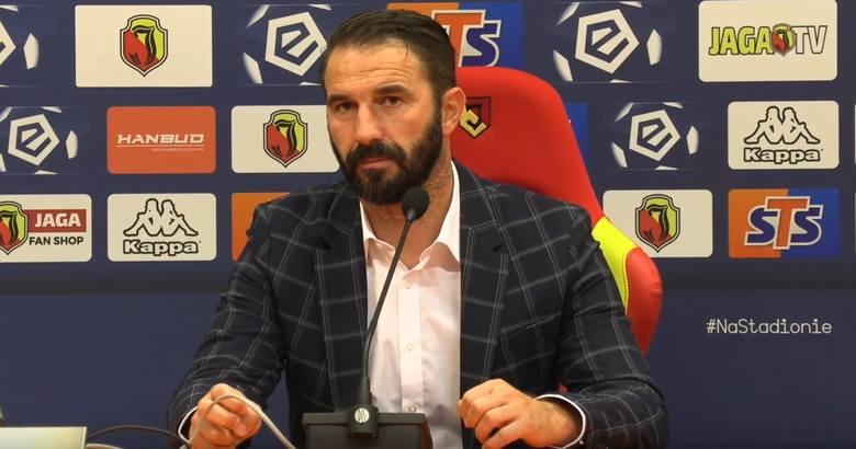 Martin Sevela o meczu z Jagiellonią Białystok: Jestem zadowolony