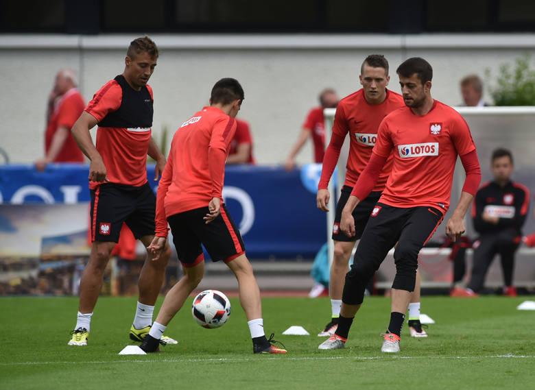 Trening reprezentacji przed meczem ze Szwajcarią