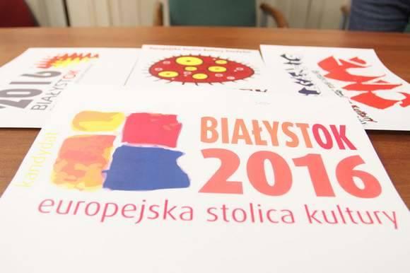 Logo Białegostoku jako Europejskiej Stolicy Kultury zaprojektował Jan Niechaj