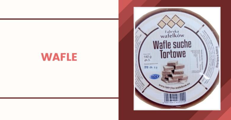 Zagrożenie:Spożycie produktu wiąże się z potencjalnym ryzykiem zakażenia pałeczką Salmonella.Nazwy produktów:- Wafle suche Mega PAAKA, 400 g- Wafle suche