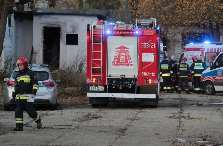 Wypadek przy ul. Twardowskiego w Szczecinie: Nie żyją dwaj chłopcy, którzy wpadli do basenu przeciwpożarowego (19.11.2019 r.)