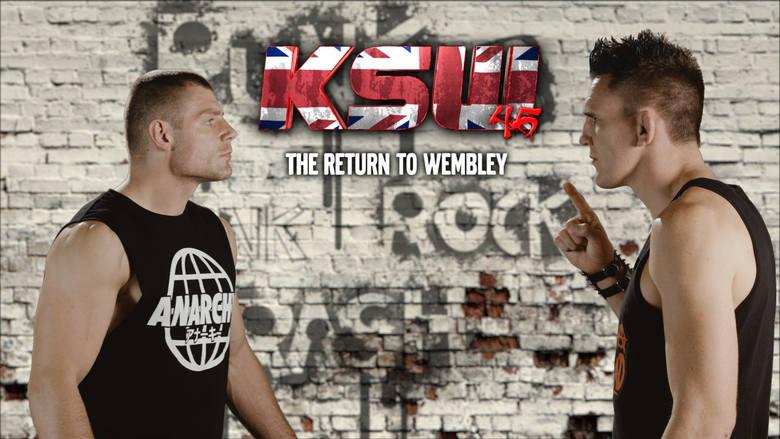 KSW 45: Return to Wembley. Gdzie oglądać KSW 6 października? Pełna lista walk