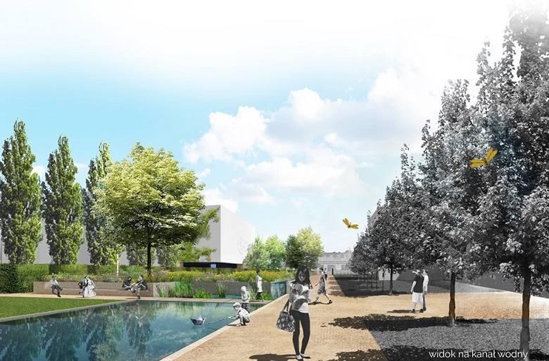 Na zlecenie miasta powstała wstępna koncepcja zagospodarowania parku przy ul. Karmelickiej. Teraz po uwagach mieszkańców nadszedł czas na korekty.