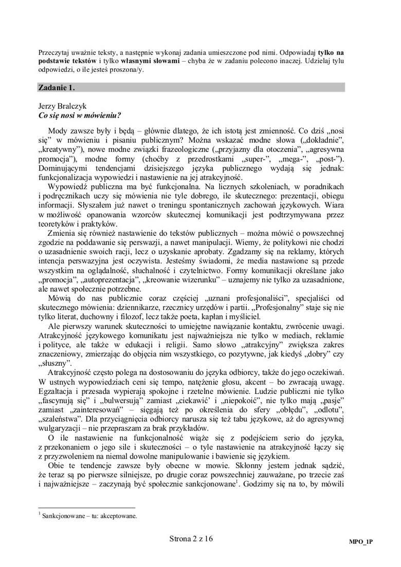 Matura 2015 Polski Lalka Prusa I Wiersz Bishop Na Maturze