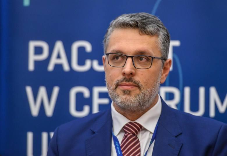 Jakub Kraszewski (zdjęcie sprzed pandemii)