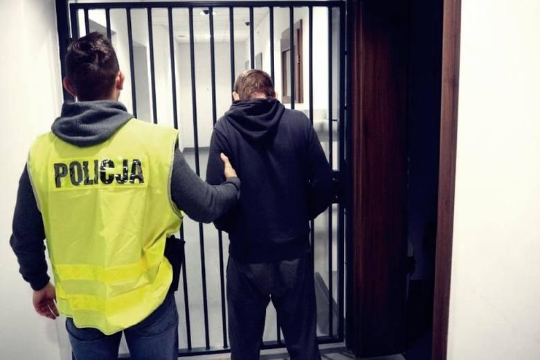 policja aresztowanie