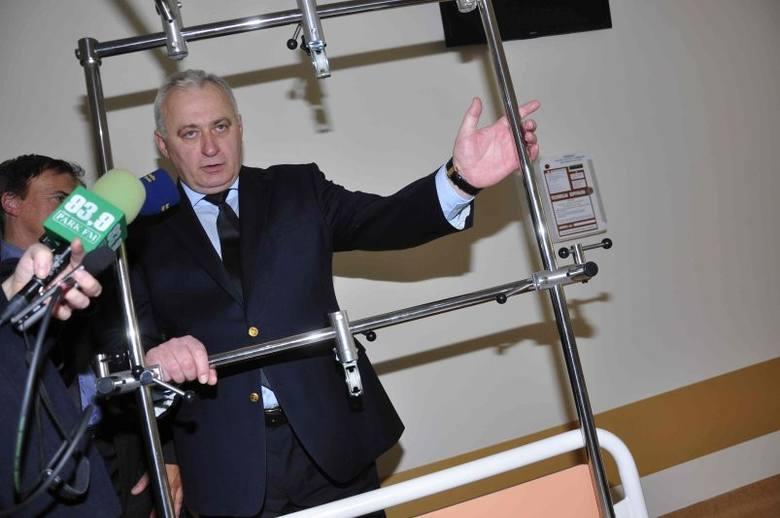Anatol Majcher, dyrektor szpitala w Kędzierzynie-Koźlu, jest dumny z nowego oddziału. - Jego uruchomienie przyniesie przede wszystkim korzyści pacjentom