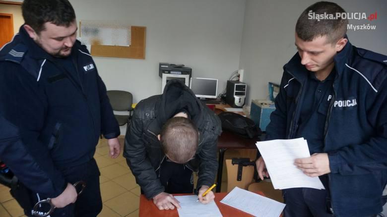 25-latek dwa razy pchnął ofiarę nożem. Nożownik z Myszkowa przyznał, że fascynuje się mordercami
