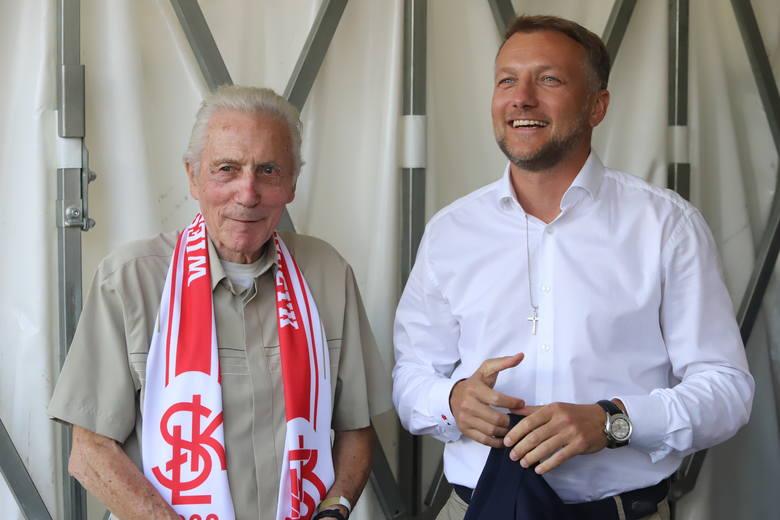 Wiesław Jańczyk – mistrz 1958 i prezes ŁKS Tomasz Salski