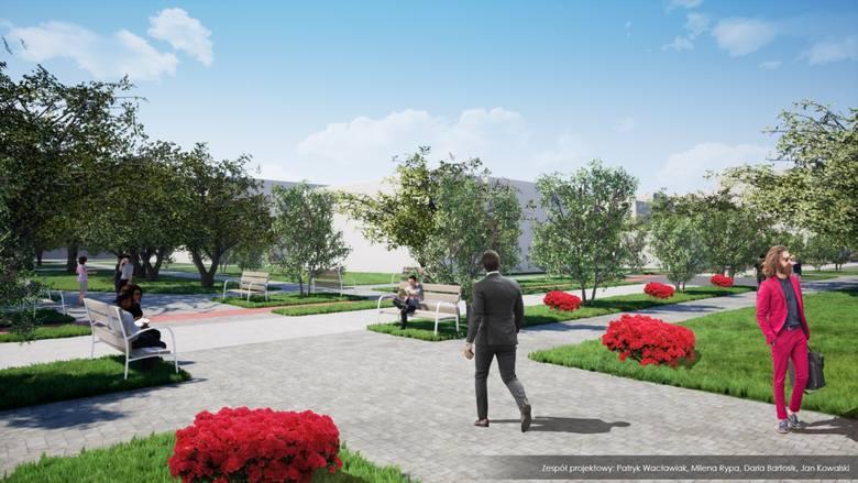 Woonerf na ul.Stefanowskiego,  jeden z popularniejszych projektów BO 2020, jednak powstanie.