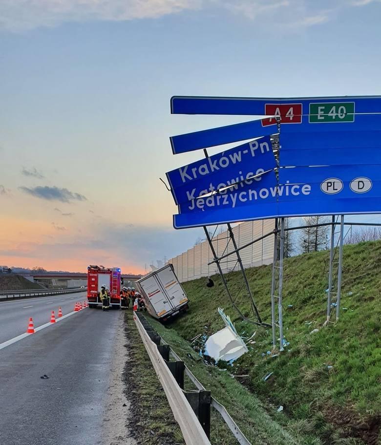 W środowe (7 kwietnia) popołudnie na autostradowej obwodnicy Krakowa w krótkim czasie doszło aż do trzech kolizji. Na szczęście nikt nie został rann