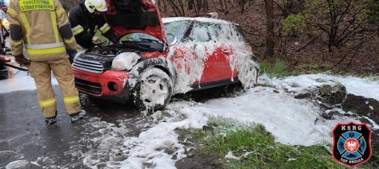 Wypadek miał miejsce w poniedziałek, 3 maja 2021 roku na wyjeździe z Brzozy.