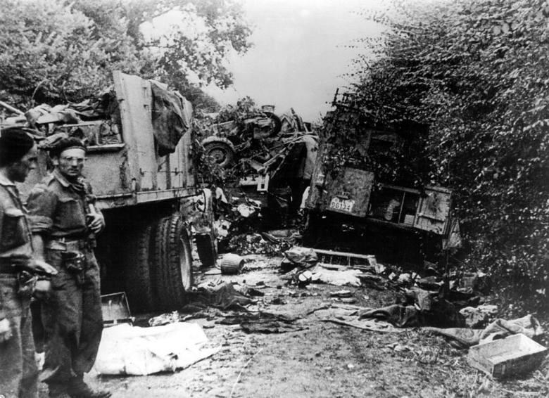 1. Dywizja Pancerna PSZ podczas ćwiczeń w Szkocji, 1941 r.