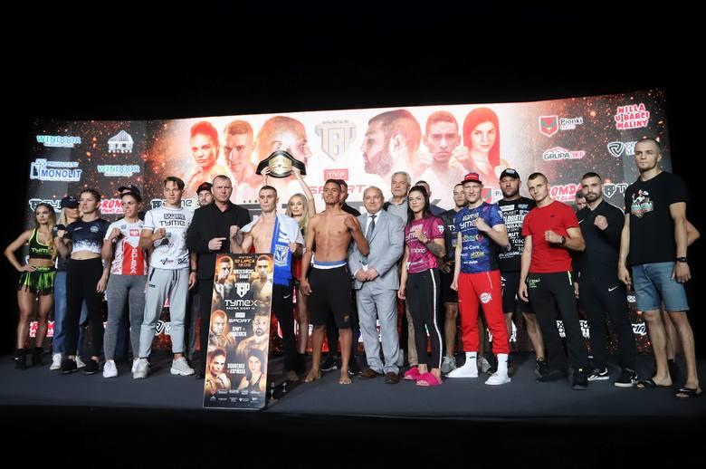 W piątek, 10 lipca w hali sportowej w Pionkach odbędzie się gala Tymex Boxing Night 12. Za nami oficjalna ceremonia ważenia. Zobaczcie zdjęcia z tego