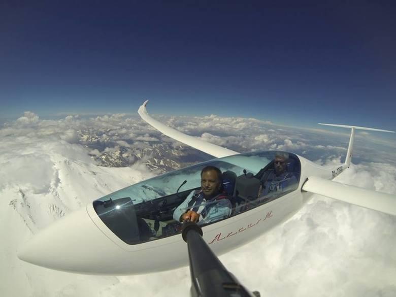 Sebastian Kawa latał szybowcem nad Kaukazem. Jak pierwszy człowiek na świecie