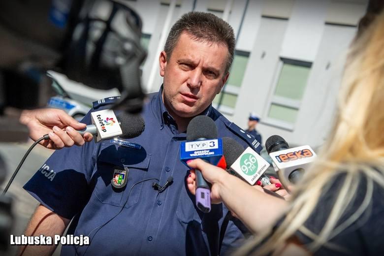 """W policyjnej akcji wzięła udział specgrupa """"Speed"""" komendy wojewódzkiej w Gorzowie. - Mieliśmy także sześć nieoznakowanych samochodów z wideorejestratorami."""
