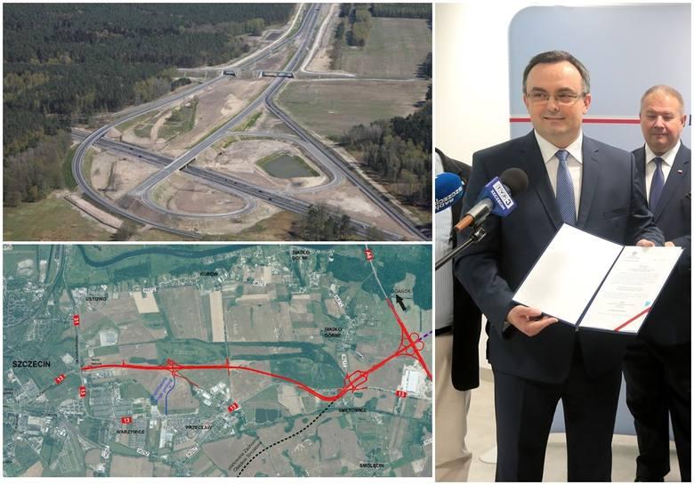 Decyzja o budowie obwodnicy Przecławia i Warzymic jest wydana, ale wykonawca ma spore kłopoty