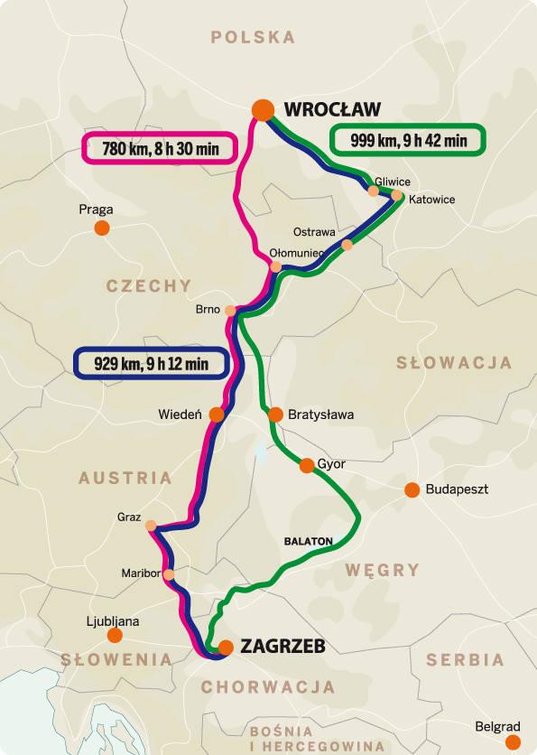 Z Wrocławia do Chorwacji. Jak najlepiej dojechać? (MAPA, TRASY)