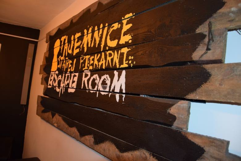 Stara Piekarnia - zamknięty escape room Chojnicach.