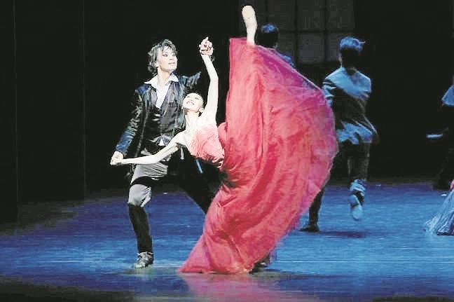 """Bydgoski Festiwal Operowy odwiedzają też zagraniczni goście. Na zdjęciu Shangai Ballet pokazał w tym roku """"Jane Eyre""""."""