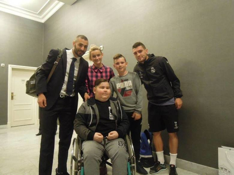 Chory Oliwier spotkał się z Ronaldo i drużyną Realu