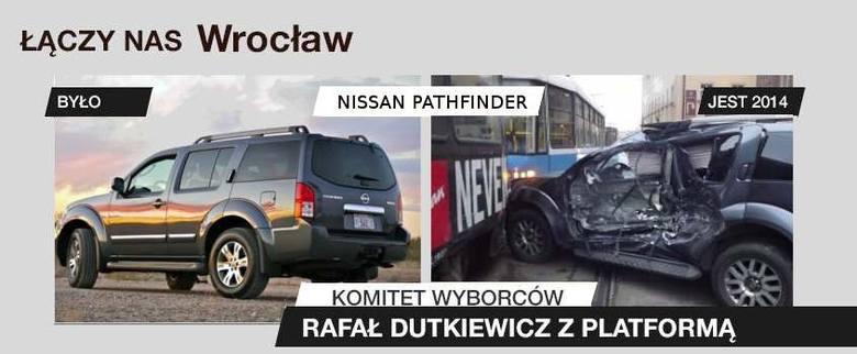 Internauci drwią z Rafała Dutkiewicza i jego plakatów wyborczych (ZOBACZ MEMY)