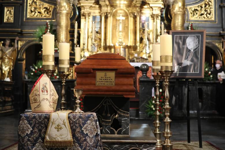Pogrzeb kardynała Mariana Jaworskiego.
