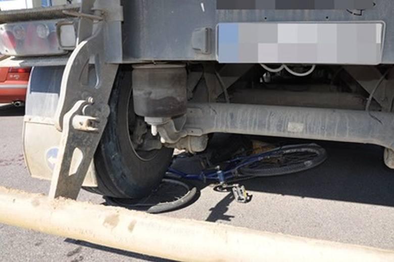 Wyszków: tir potrącił rowerzystkę