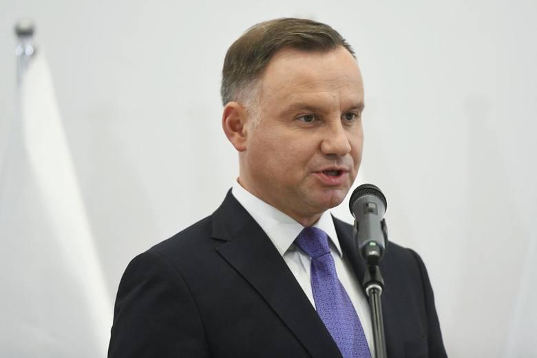"""Wybory do PE. Orędzie prezydenta Andrzeja Dudy przed wyborami. """"Weźmy udział w tych wyborach"""""""