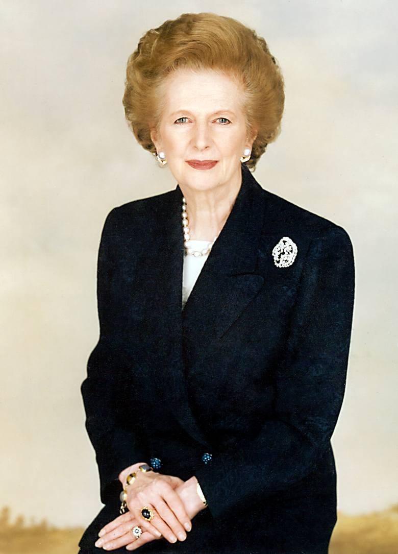 Margaret Thatcherur. 13 października 1925 r., zm. 8 kwietnia 2013 r.W 1979 r. została premierem Wielkiej Brytanii - pierwszą kobietą w Europie piastującą
