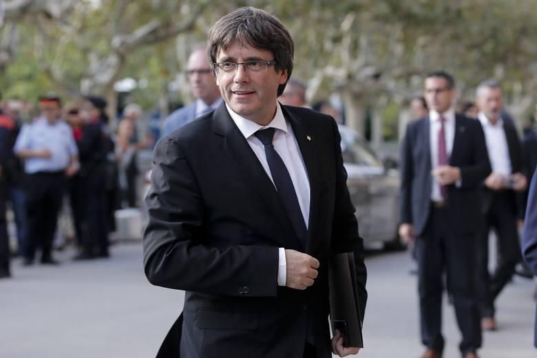Katalonia ogłosi niepodległość za kilka tygodni. Puigdemont: Chcemy dialogu