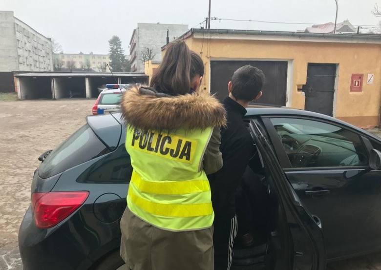W poniedziałkowe popołudnie  ełccy policjanci zostali wezwali do jednego ze sklepów. Przyszedł tam mężczyzna, który miał liczne rany twarzy oraz szyi
