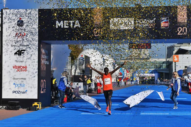 Cosmas Kyeva wygrał 20. PKO Poznań Maraton im. Macieja Frankiewicza. 34-letni Kenijczyk triumfował po raz drugi z rzędu, a trzeci w ogóle i zrobił to
