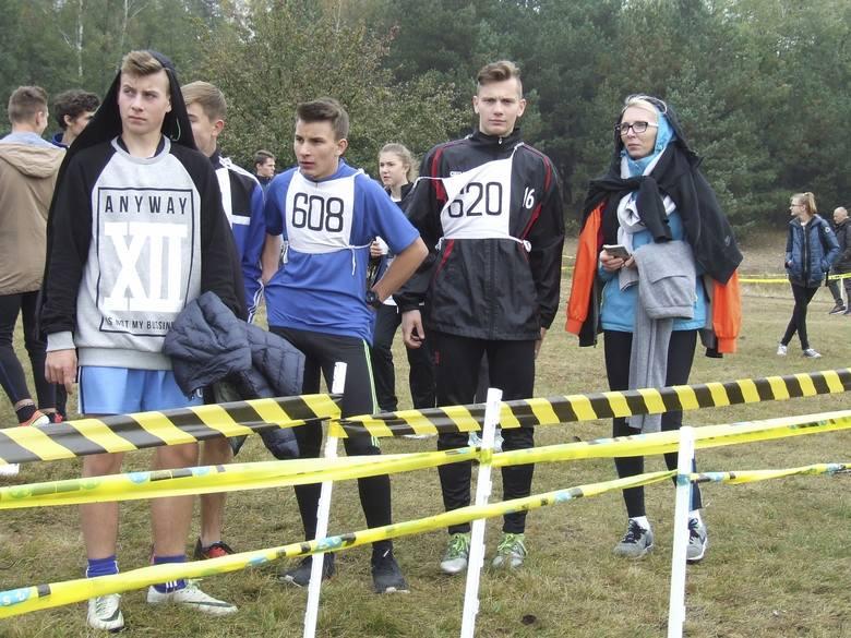Indywidualne biegi przełajowe - finały wojewódzkie w Fordonie