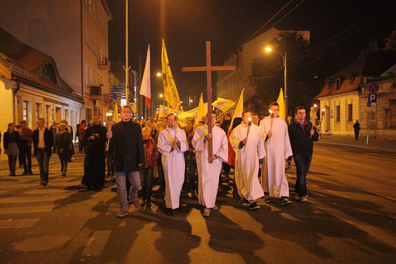 Marsz Papieski w Łodzi [ZDJĘCIA]