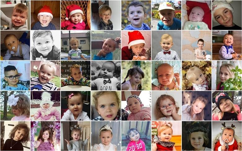 ŚWIĄTECZNE GWIAZDECZKI. Zobacz dzieci cieszące się największą popularnością w powiatach