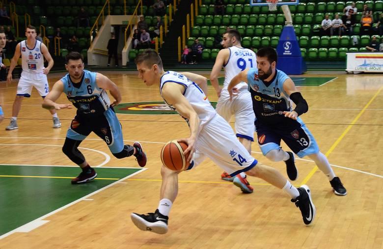 Z pierwszoligowego parkietu. Koszykarzom KSK Noteć Inowrocław nie udało się pokonać ekipy Zetekama Doral Nysa Kłodzko. Choć po pierwszych dwóch kwartach