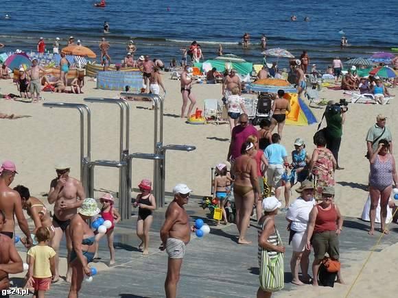 Plaża w Swinoujściu