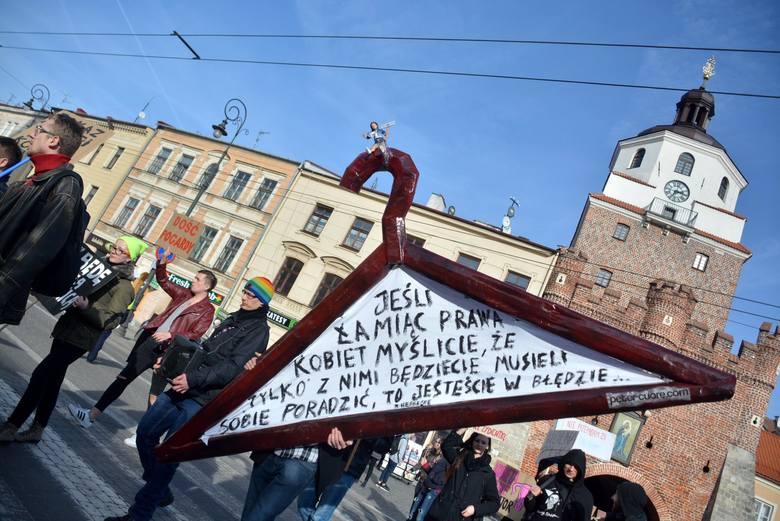 Pierwsza Manifa w Lublinie