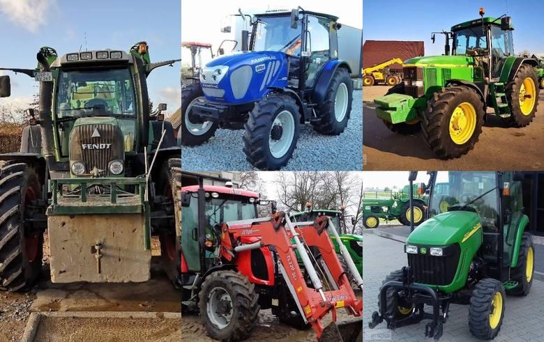 Przygotowaliśmy ponad 30 ofert ciągników rolniczych na sprzedaż z portalu gratka.pl. Przedział cenowy obejmuje maszyny od ponad 600 tysięcy złotych do