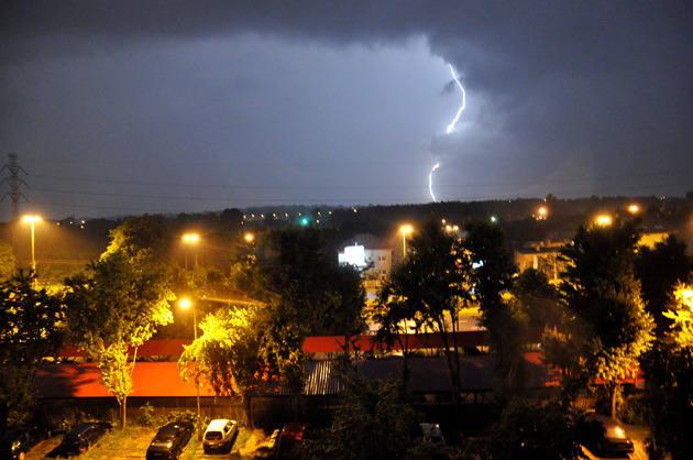 Dziś w nocy można w Łodzi spodziewać się burz
