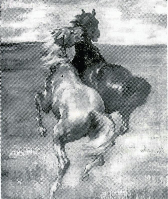 """Wystawa """"Sztuka Prus Zachodnich"""" ze Stadtmuseum wędrowała, prezentowana była także w Sopocie w sierpniu  1940 roku. Otwierał ją nadburmistrz Erich T"""