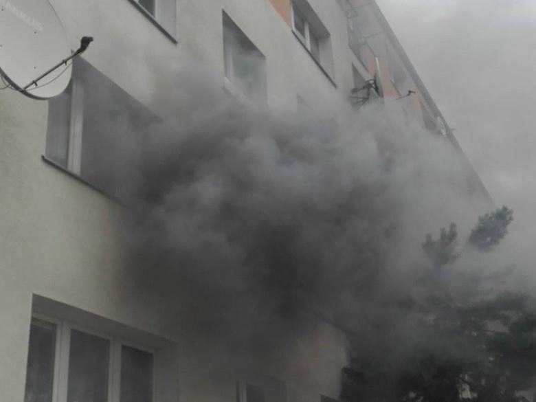 Wybuch gazu przy ul. Rugiańskiej w Szczecinie? Jedna osoba ranna