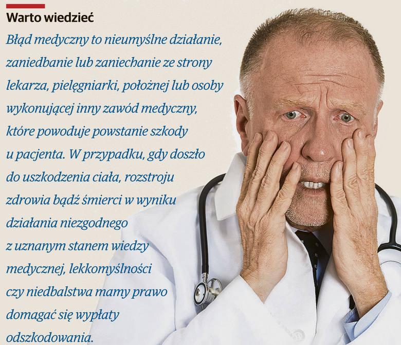 Błędy w sztuce lekarskiej. Jak się przed nimi bronić?