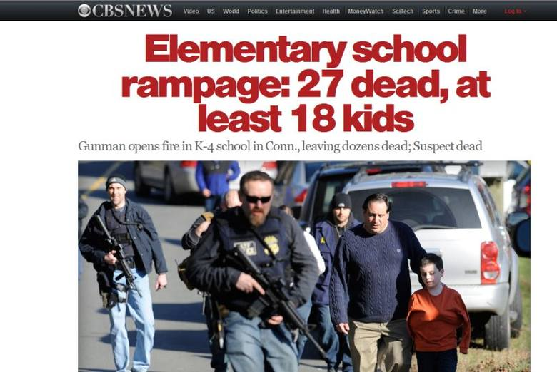 Masakra w Newtown. Gorące komentarze