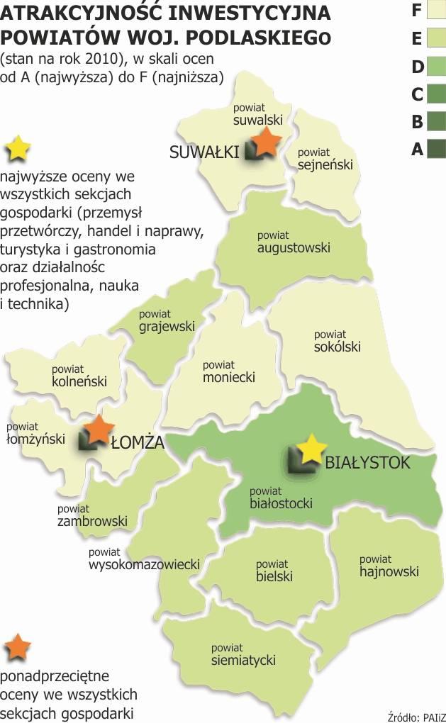 Na tle regionu, stolica Podlaskiego jest jak wisienka. Niestety nie na torcie.