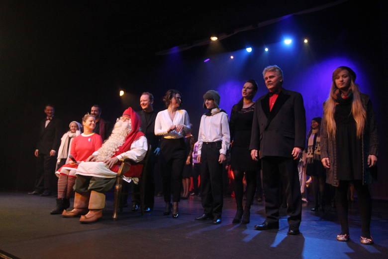 Święty Mikołaj w Teatrze Muzycznym