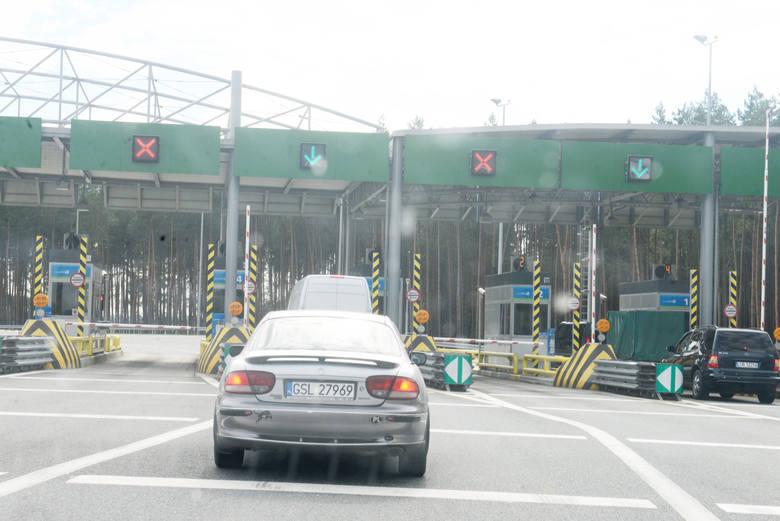 Bramki na autostradzie A2 będą skanować rejestracje samochodów.