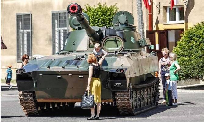 Ja chcę do czołgu! Święto Podhalańczyków